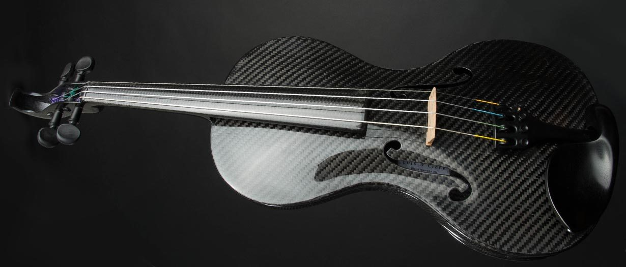 carbon fiber string instruments - violin