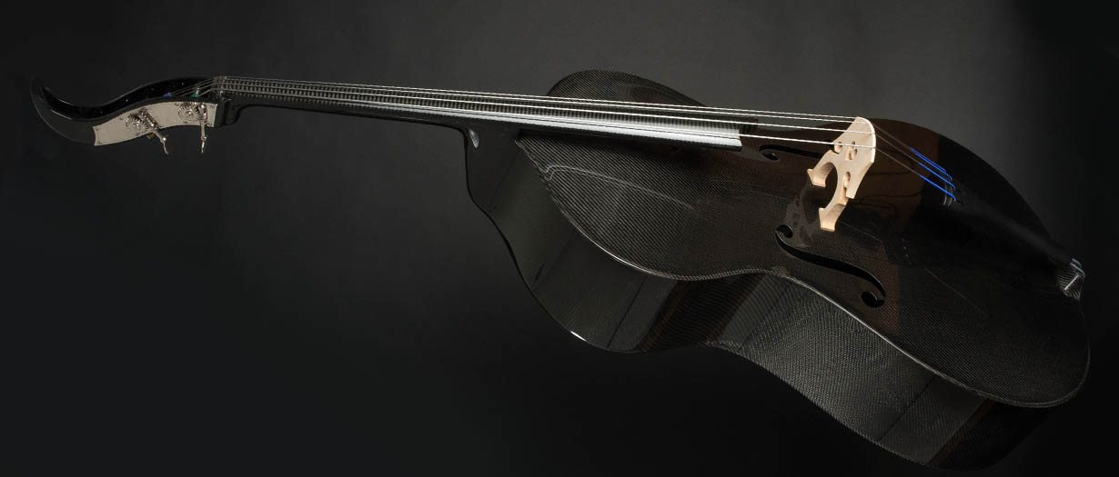 carbon fiber string instruments - double bass